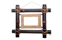 Bambu inramar Arkivfoto