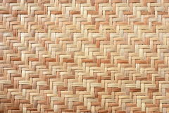 Bambu Mat Texture Royaltyfri Bild