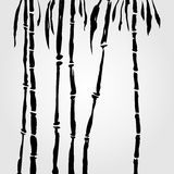 Bambu no estilo chinês Fotos de Stock Royalty Free