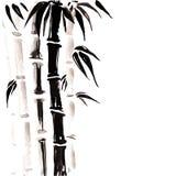 Bambu no estilo chinês Imagem de Stock Royalty Free
