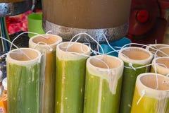 Bambu rånar Royaltyfria Bilder