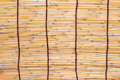 Bambu rullgardin Fotografering för Bildbyråer
