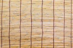 Bambu rullgardin Royaltyfri Foto