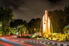 Bambu Runcing της πόλης του Surabaya στοκ φωτογραφίες