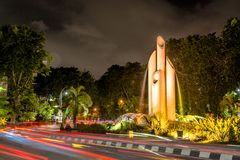 Free Bambu Runcing Of Surabaya City Stock Photos - 141013913