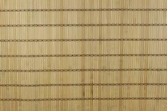Bambu som är matt som bakgrund Detaljerad främre sikt av strukturen av en matt bambu Arkivfoton