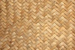 Bambu tecido Foto de Stock Royalty Free