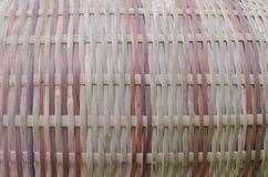 Bambu tecido Fotos de Stock Royalty Free