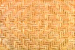 Bambu tecido Fotografia de Stock