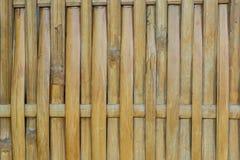 Bambu tecido Imagens de Stock