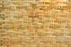 Bambu tecido Fotografia de Stock Royalty Free