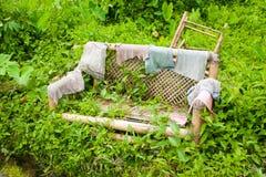 Bambu velho Fotografia de Stock Royalty Free