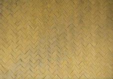 Bambu wattled textur Arkivbild