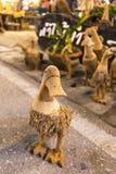 Bambuand Royaltyfri Foto