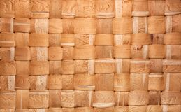 bambublocktextur Royaltyfri Bild