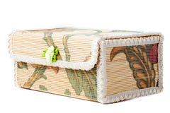 Bambubröstkorg Royaltyfri Bild