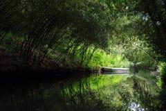 bambufartyg Fotografering för Bildbyråer