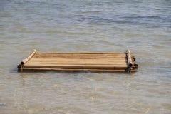 Bambuflotte Royaltyfria Foton