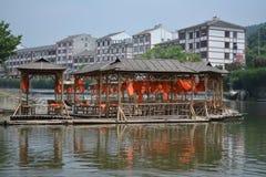 Bambuflotte Royaltyfri Bild