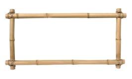 Bambufotoram Royaltyfria Foton