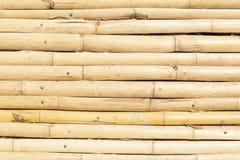 Bambuhorisontallinjer bakgrund Royaltyfri Fotografi