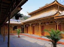 bambuhus Royaltyfri Fotografi