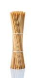 bambukebabsteknålar Arkivfoton
