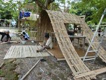 Bambukonst Royaltyfri Fotografi