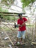 Bambukonst Fotografering för Bildbyråer