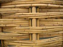 bambukonstruktionsdetalj arkivfoton