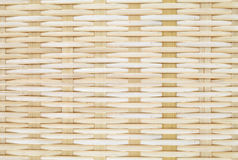 Bambukorg Royaltyfri Foto