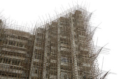 bambumaterial till byggnadsställning Royaltyfria Foton