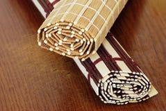 bambumats royaltyfria foton