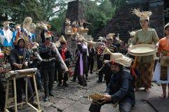 Bambumusik Royaltyfria Bilder