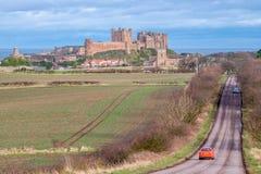 Bamburgh城堡8826 免版税图库摄影