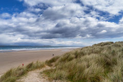 Bamburgh beach Royalty Free Stock Photo