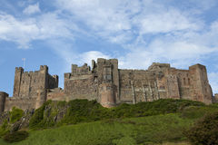 Bamburgh Castle. Stock Image
