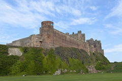 Bamburgh Castle. Royalty Free Stock Images