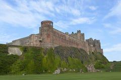 Bamburgh Castle. Bamburgh Castle in Northumberland, England Royalty Free Stock Images
