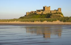 Bamburgh Castle Stock Image
