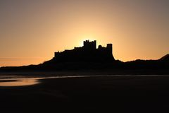 Bamburgh castle Royalty Free Stock Photography