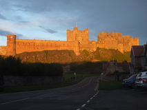 Bamburgh castle3 Obrazy Royalty Free