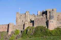 Bamburgh Castle. Northumberland coast, England Royalty Free Stock Photos