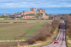 Bamburgh Castle 8826 Στοκ φωτογραφία με δικαίωμα ελεύθερης χρήσης