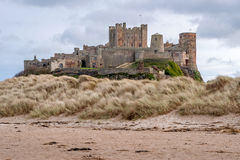 Bamburgh Castle 8831 Στοκ εικόνα με δικαίωμα ελεύθερης χρήσης