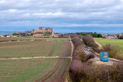 Bamburgh Castle 8822 Stock Photography