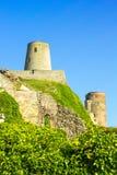 Bamburgh Castle, on the coast at Bamburgh, Northumberland, England, i Royalty Free Stock Photography