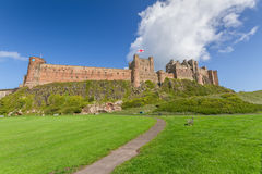 Bamburgh Castle Royalty Free Stock Photo