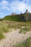 Bamburgh Castle, Northumberland. Royalty Free Stock Images