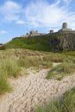 Bamburgh Castle, Northumberland. Royalty Free Stock Images